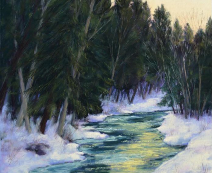 The landscapes of Anna Finnerty on display in West Tisbury