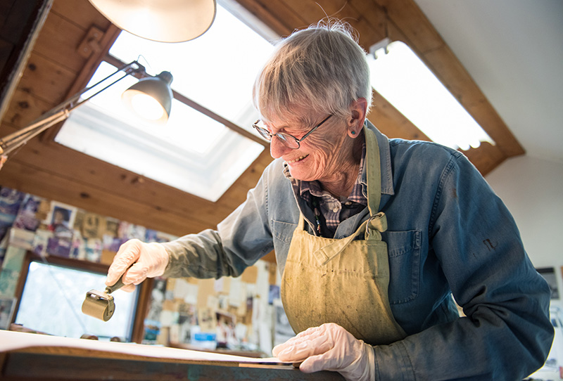 Ruth Kirchmeier's passion for printing