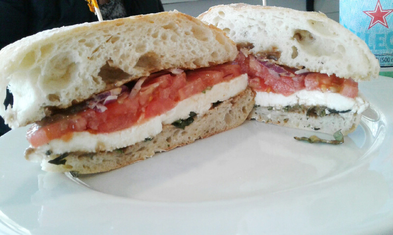 Waterside Market: Sandwiches, takeout, and a mermaid